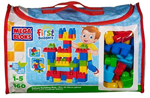 Mattel mega bloks dcj69 - set di mattoncini per costruzioni, 160 pz.