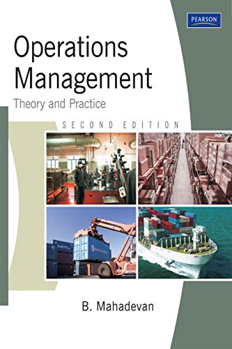 Operations Management Mahadevan Ebook
