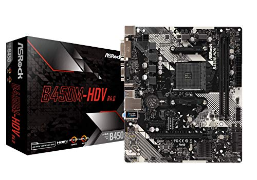 ASRock B450M-HDV...