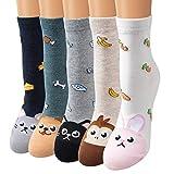 Calzini Set, Ambielly qualità calzini ragazze calze calzini di cotone Rich progetta i calzini - casuale comodo, Everyday, traspirante Donna Calze (CC003)