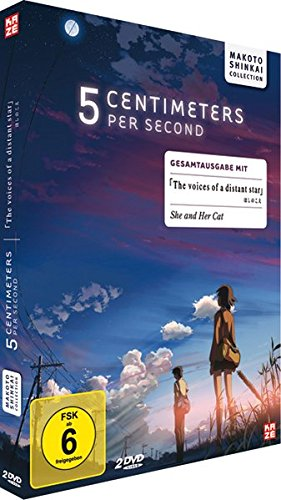 Bild von 5 Centimeters per second / The Voices of a Distant Star - Box (2 DVDs) [Deluxe Edition]