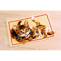Beyond Your Thoughts DIY Latch Hook Kit Rug Making Crafts for Kids/Adults 20 inch X 15 inch Cat563