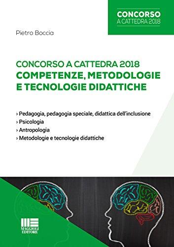 Concorso a cattedra 2018. Competenze, metodologie e tecnologie didattiche