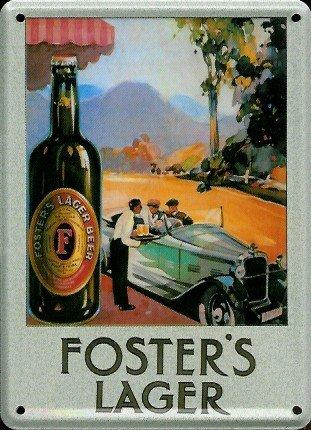 retro-wandschild-designer-schild-fosters-lager-beer-deko-8x11cm-nostalgie-metal-sign-d139