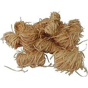 Zündfüchse 6,5 kg (ca. 500 Stück) Bio Holzwolle Anzünder Kaminanzünder Grillanzünder Ofenanzünder Holzanzünder Grillkohle Kaminholzanzünder Brennholzanzünder Kaminholz Brennholz
