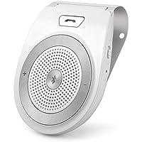 Bluetooth 4.1 manos libres kit de altavoz receptor cargador de coche construir en micrófono para soporte de 2 Teléfonos Smartphone iPhone7 / 6 / 6s más / Samsung o cualquier producto con Bluetooth.