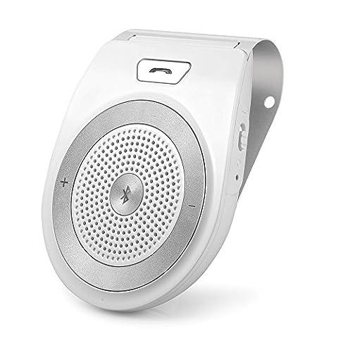 Aigital Freisprecheinrichtung Car-Kit V4.1 Bluetooth Freisprechanlage Auto Lautspreche Musik Empfänger
