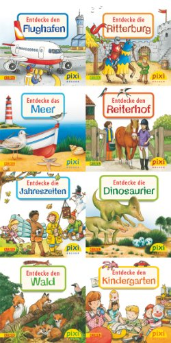 Pixi-Bundle 8er Serie 196: Entdecke deine Welt 2 (Pixi-8er-Set, Band 196)
