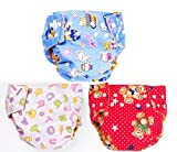 Ole Baby Cloth Diaper Reusable Washable Free Size Waterproof 0-3 Years Pack Of 3