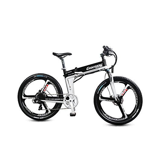 "51n06k6thuL. SS500  - GTYW Electric Folding Bicycle Mountain Bicycle Adult Bicycle - 26""-90km Life"