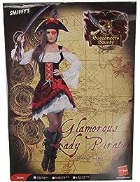Smiffy's Adult Women's Glamorous Lady Pirate Costume