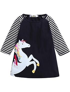 feiXIANG Kleinkind Röcke Kinder mädchen Mädchen Prinzessinnenkleid Weihnachten Babykleidung Kleider Outfits Mädchen...