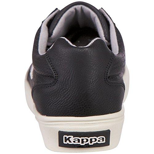 Kappa Unisex-Erwachsene Porto Low-Top Schwarz (1116 black/grey)