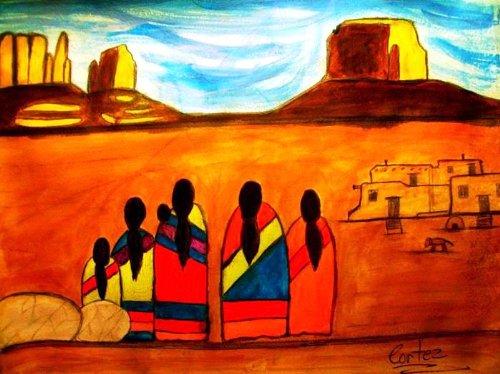 Abstract Native American Art Volume V eBook: Richard Cortez ...