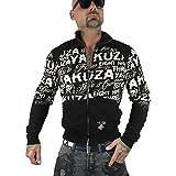 Yakuza Original Herren Allover Label Trainingsjacke Zipper