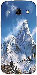Snoogg Everest Climb Designer Protective Back Case Cover For Samsung Galaxy C...