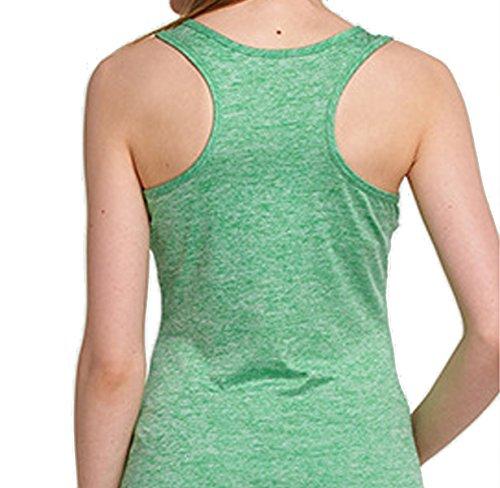 Été Mince Mince Yoga Respirant Femme Sans Manches Veste De Sport green