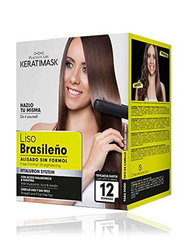 Be Natural - Kit Alisado Brasileño Keratimask - Sin