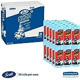 Scott tienda toallas, rollo de 102/5x 11, azul (55hojas/rollo, 30rollos/caja)