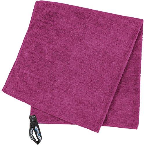 PackTowl Reisehandtuch/Outdoor-Handtuch, Unisex, Luxe, Magenta