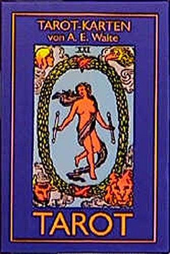 TAROT von A. E. Waite (Pocket, 52 x 89 mm Karten) (Golden Dawn Tarot-karten)