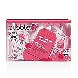 Bubble T Cosmetics Hibiscus & Acai Berry Tea Bath Salt Tea Bags (3 x120g)