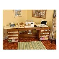 Mueble para máquina de coser - Bertha Roble de Arrow Cabinets
