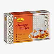Haldiram's Nagpur Orange Burfee 500 Grams (Pack Of 2).