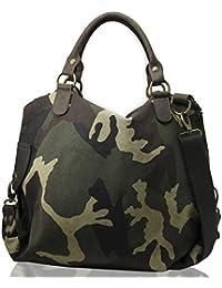 super qualità davvero comodo più recente Amazon.it: borsa militare - Verde / Donna / Borse: Scarpe e ...