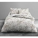 Today 016090Only Bespin Bettwäsche mit 2Personen Polyester Weiß/Beige 240x 220cm