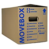30 x UMZUGSKARTONS ZWEIWELLIG - 634 x 290 x 326 mm - MOVEBOX - 2.20 EB Welle
