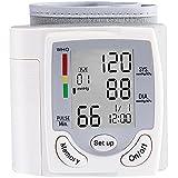 Oberarm Blutdruckmessgerät Elektronisches Handgelenk-Blutdruckmessgerät mit hoher Genauigkeitsmessung Arrhythmie-Anzeige Leichte Lesbarkeit WHO Ampel-Farbskala