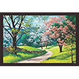 Mad Masters Beautiful Landscape Art 1 Piece Wooden Framed Painting |Wall Art | Home Décor | Painting Art | Unique Design | Attractive Frames