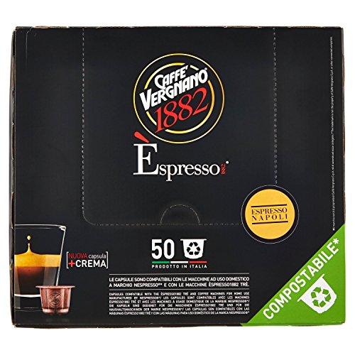 Caffè vergnano 1882 Èspresso1882 napoli - 50 capsule - compatibili nespresso