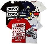 #10: Cherokee Boys' T-Shirt (Pack of 5)
