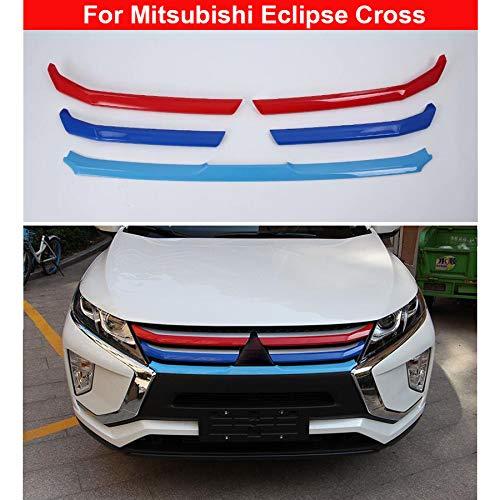 5 x verchromte Front-Gitter-Zierleisten für Eclipse Cross 2018 2019