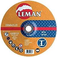 Leman 126049.05 - Pack de 5 discos para desbastar (125 x 6 x 22,23 mm)