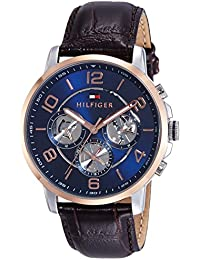 Tommy Hilfiger Analog Blue Dial Men's Watch - TH1791290