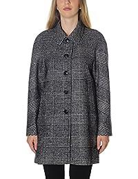 Nero Seventy Donna it Cappotto Abbigliamento Amazon xfwCqt