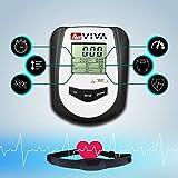 AsVIVA RA11 Rudergerät Ergometer Rower Cardio XI mit 8 manuellen Widerstandsstufen inkl. Multifunktionscompukter mit Pulsmessung für das Ausdauertraining zu Hause und klappbar (Weiß/Schwarz) - 3