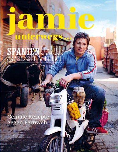 Buchseite und Rezensionen zu 'Jamie unterwegs... Geniale Rezepte gegen Fernweh.' von Jamie Oliver
