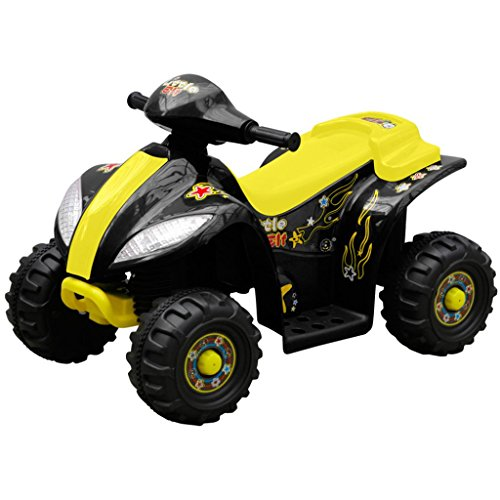 Elektro Atv Kinder (vidaXL ATV QUAD Kindermotorrad Kinder Fahrzeug Elektro Auto Elektromotorrad 3)