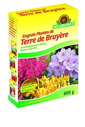 Engrais Plantes de Terre de Bruyère 800gr