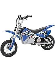 Razor Dirt Rocket MX 350 - Vehículo eléctrico para niños, color azul