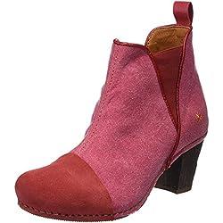 Art 1272T Wax Ca I Meet, Botines para Mujer, Rojo (Granate), 38 EU