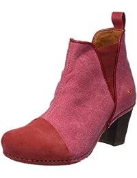 Art 1272T Wax Ca I Meet, Botines para Mujer, Rojo (Granate), 41 EU