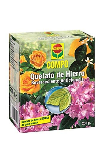 Compo Abonos de huerto y jardín Quelato de Hierro, 250 g