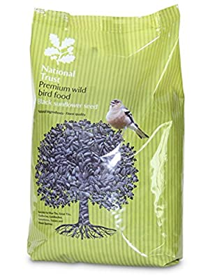 National Trust Wild Bird Food Premium Sunflower Seeds 12.75kg from National Trust Bird Foods