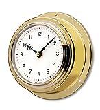 Reloj Naútico De Barco Marítimo de Cuarzo Latón pulido