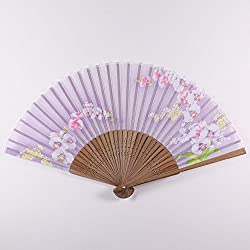 Japanischer Fächer, Orchidee, zartlila Sensu-C-7037